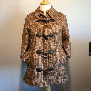 HP!-Liz Lange- Brown Toggle & Zip Jacket-Size XS